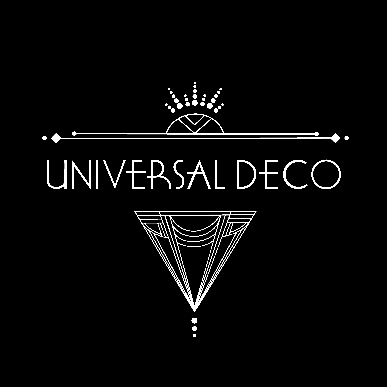 Universal Deco Logo white dropshadow transparent